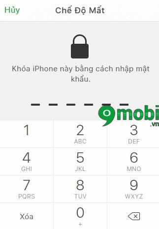 cach khoa iphone tu xa