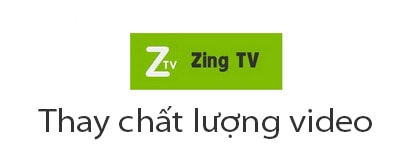 cach doi chat luong video tren Zing TV
