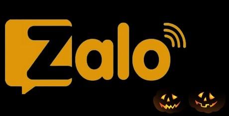 Tạo hiệu ứng ma quái trong cửa sổ chat Zalo