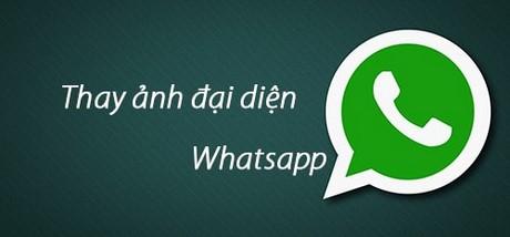 thay anh dai dien whatsapp