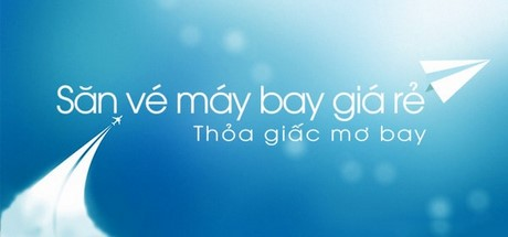 san ve may bay gia re tren android