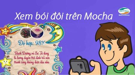 Cách xem bói đôi trên Mocha cho điện thoại