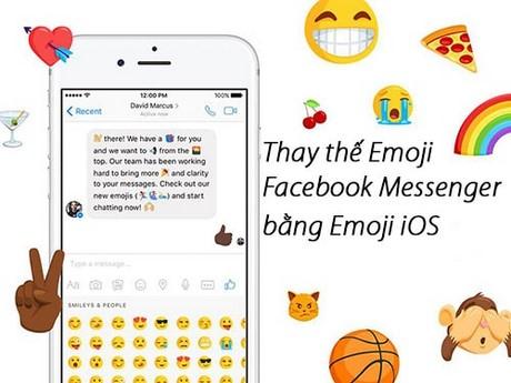 thay the emoji facebook messenger