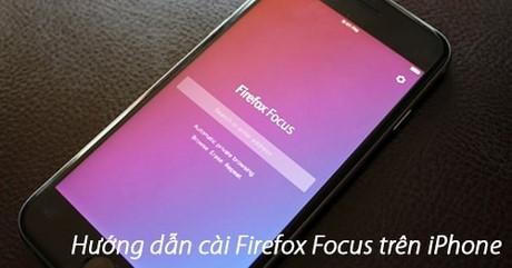 cach cai firefox focus