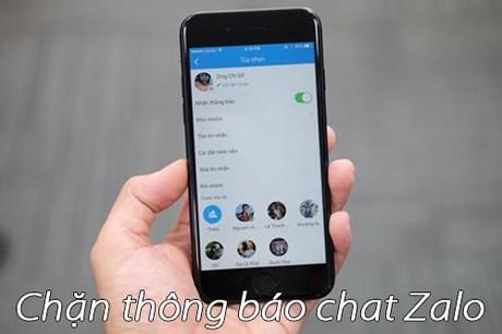 chan thong bao chat zalo