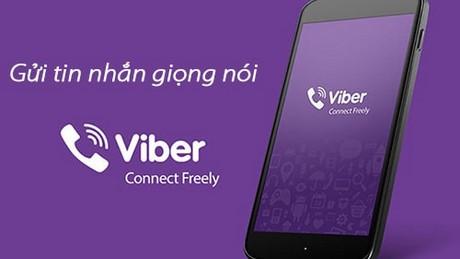 huong dan gui tin nhan giong noi tren Viber