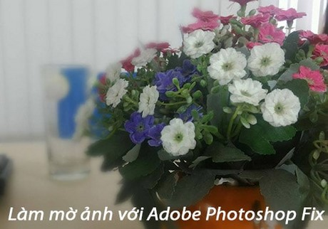 lam mo anh voi Adobe Photoshop Fix cho android