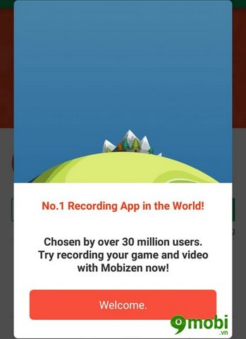 cach su dung Mobizen Screen Recorder