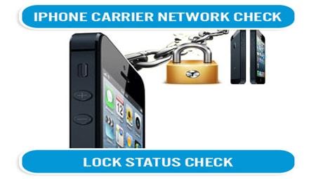 check sim lock iphone