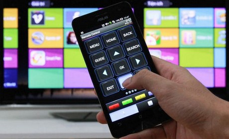 Điều khiển tivi qua android, điều khiển Tivi bằng điện thoại Android