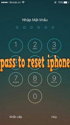 dat passcode tat nguon iphone