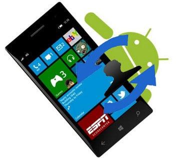 chuyen danh ba android sang lumia