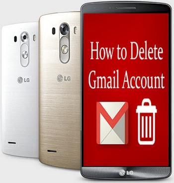 xoa tai khoan gmail tren lg