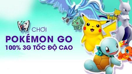 Pokemon Go, 3G Pokemon GO Viettel