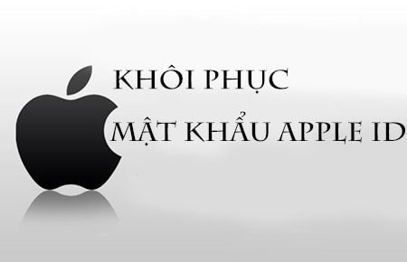 khoi phuc mat khau Apple ID