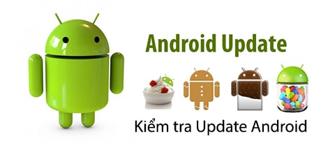 kiem tra update Andriod