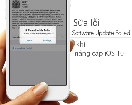 loi software update failed khi nang cap ios