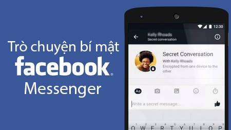 tro chuyen bi mat voi Facebook Messenger