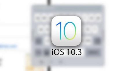 iOS 10.3 beta co gi moi
