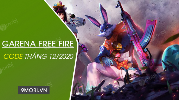 code free fire thang 12/2020