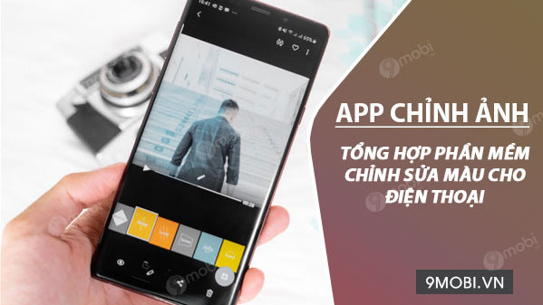 app chinh mau cho dien thoai iPhone, Android