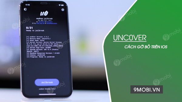 cach go uncover tren iphone