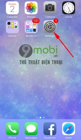 thay doi ngon ngu tren iphone 6