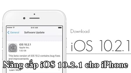 Download ioS 10.2.1