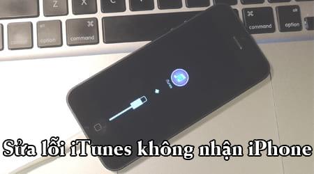 loi itunes khong nhan iphone
