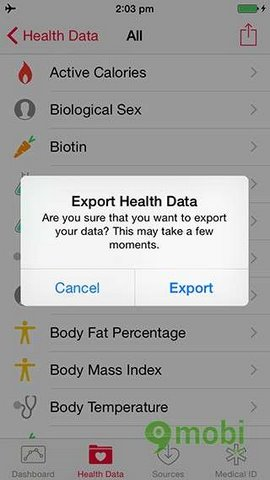 Health for iOS 8 beta 5