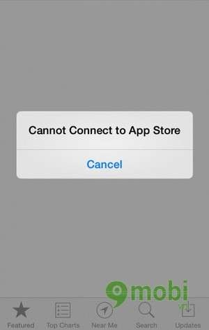 iphone cannot connect to app store fixed quot can not connect to app itunes quot on ios 7 19347