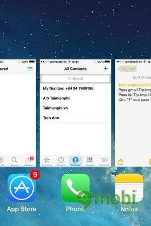 iOS 7 và cách tắt đồng thời nhiều ứng dụng tren iPhone 5, 4s, 4
