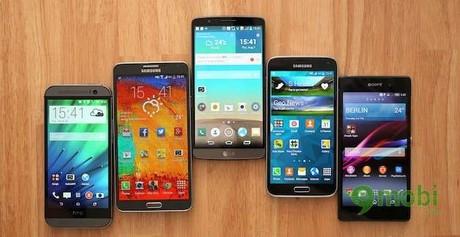 top 10 điện thoại Android tốt nhất năm 2014