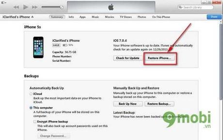 Hướng dẫn jailbreak iPhone 5/ 5s chạy iOS 7