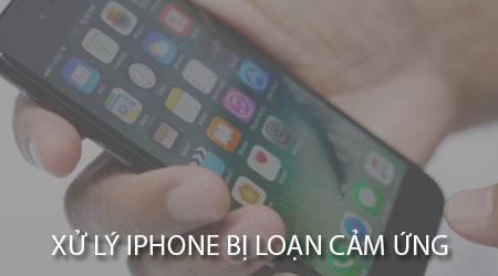 iphone bi loan cam ung nguyen nhan va cach khac phuc