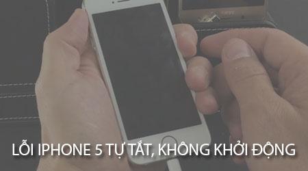 sua loi iPhone 5 tu tat