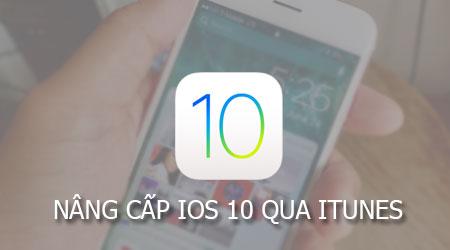 nang cap iOS 10