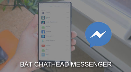 bat bong bong chat messenger cho xiaomi
