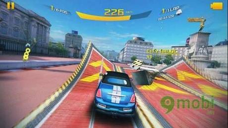 nhiem vu trong game asphalt 8