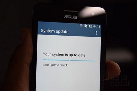 Cập nhật firmware mới nhất cho ZenFone 4