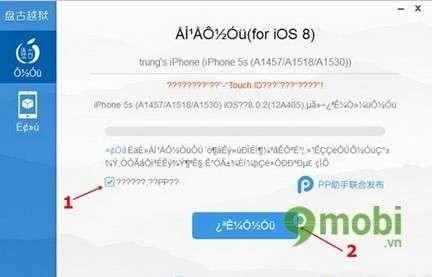 cach jailbreak iphone 6 plus, 6, ip 5s, 5, 4s, 4 ios 8
