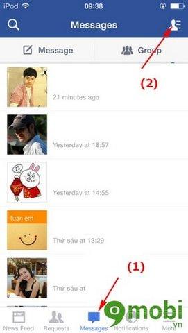 them danh sach yeu thich tren facebook tren iphone 6 plus, 6, ip 5s, 5, 4s, 4