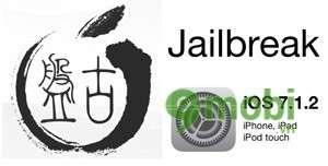jailbreak iOS 7.1.2 tren iphone 5, 4s, 4