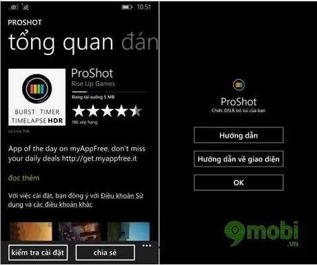 ProShot cho windows phone