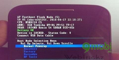 cach Unlock Bootloader cho Motorola Moto E