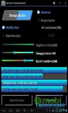 tang ram cho android