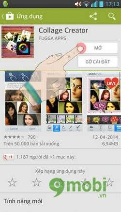 chinh sua anh ghep anh tren android