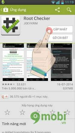 Kiểm tra xem Android đã Root chưa
