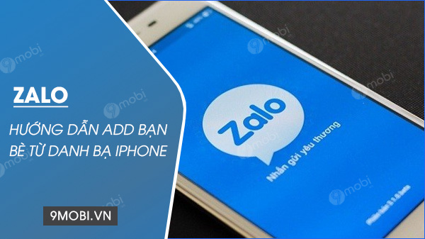 them ban zalo tren iphone