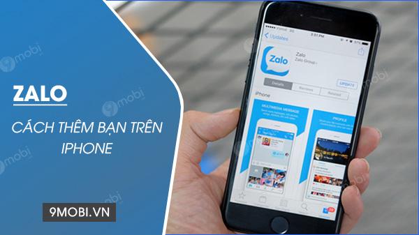 Them ban be tren Zalo